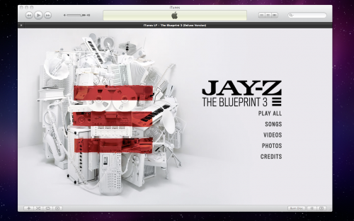 iTunes LP Jay-Z Intro